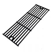 3 PACK GLOSS CAST IRON REPLACEMENT COOKING GRID FOR CHAR-GRILLER 2121, 2123, 2222 AND KING GRILLER 3008, 5252 GAS GRILL MODELS-2
