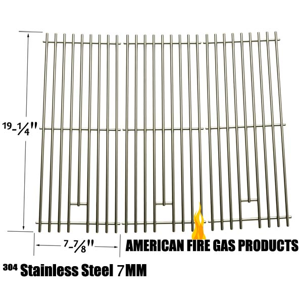 3 PACK HEAVY DUTY REPLACEMENT STAINLESS STEEL COOKING GRATES FOR SAMS 720-0584A MEMBERS MARK 720-0584A AND MEMBERS MARK: 720-0584A GAS GRILL MODELS