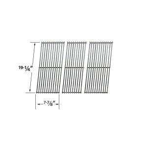 3 PACK HEAVY DUTY REPLACEMENT STAINLESS STEEL COOKING GRATES FOR SAMS 720-0584A MEMBERS MARK 720-0584A AND MEMBERS MARK