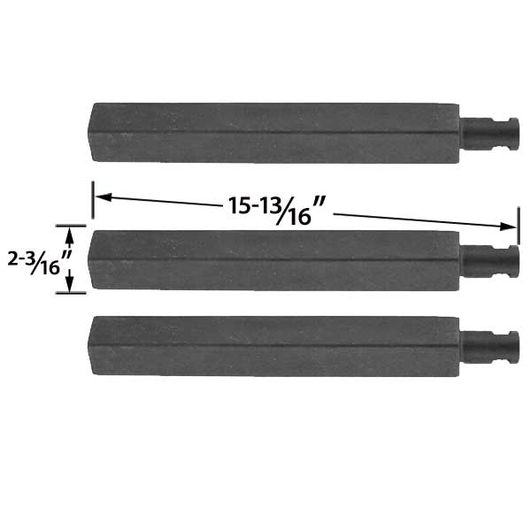 Grill Parts For 3 Pack Replacement Cast Iron Grill Burner For