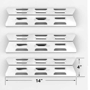 3-PACK-REPLACEMENT-STAINLESS-STEEL-HEAT-PLATE-FOR-BBQ-TEK-GSF2616AC-BOND-GSF3016E-BROILCHEF-GSF2616AK-PRESIDENTS-CHOICE-SSS34146TCS-TERA-GEAR-GSF3916-GAS-GRILL-MODELS