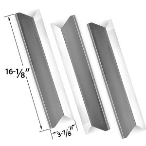 3-PACK-REPLACEMENT-STAINLESS-STEEL-HEAT-PLATE-HIELD-FOR-KENMORE-MASTER-FORGE-PERFECT-FLAME-2518SL-LPG