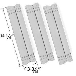3-PACK-REPLACEMENT-STAINLESS-STEEL-HEAT-SHIELD-FOR-GRILL-MASTER-NEXGRILL-720-0697-720-0737-720-0825