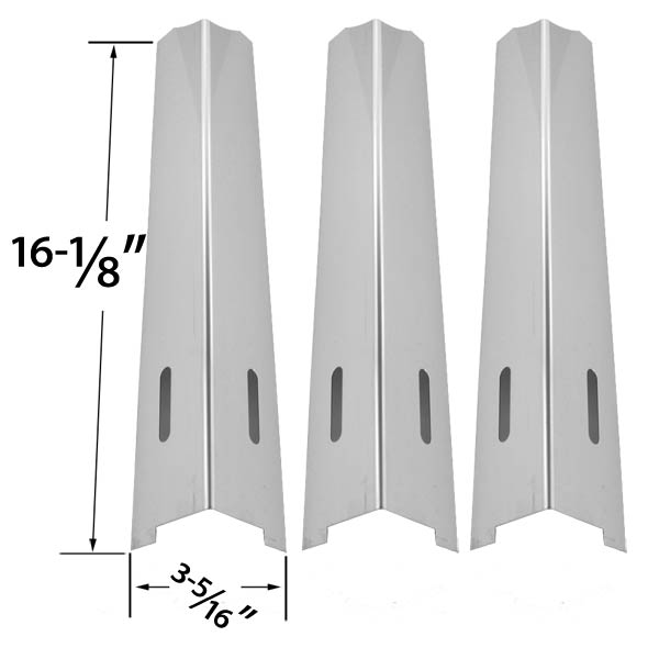 3-PACK-REPLACEMENT-STAINLESS-STEEL-HEAT-SHIELD-FOR-KENMORE-JENN-AIR-IGLOO-BBQTEK-BBQ-GRILLWARE-KITCHENAID