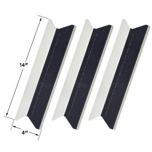 3-PACK-STAINLESS-HEAT-PLATE-FOR-PRESIDENTS-CHOICE-SSS34146TCS-TERA-GEAR-GSF3916-GAS-GRILL-MODELS