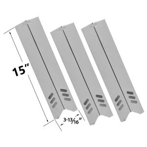 3-PACK-STAINLESS-STEEL-HEAT-PLATE-REPLACEMENT-FOR-UNIFLAME-BACKYARD-GRILL-BY12-084-029-98-BY13-101-001-12