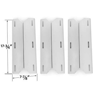 3-PACK-STAINLESS-STEEL-HEAT-PLATE-SHIELD-REPLACEMENT-FOR-JENN-AIR-720-0163-730-0163-NEXGRILL-720-0163-720-0164-720-0165-GAS-GRILL-MODELS