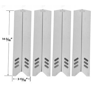4-PACK-REPLACEMENT-STAINLESS-HEAT-SHIELD-FOR-UNIFLAME-GBC1030W-GBC1030WRS-GBC1030WRS-C-GBC1134W