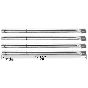 4-PACK-REPLACEMENT-STAINLESS-STEEL-BURNER-FOR-SUREFIRE-SF278LP-SF308LP-SF34LP-SF892LP-AND-TUSCANY-CS784LP-CS892LP-GAS-GRILL-MODELS