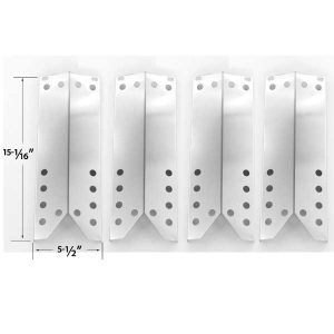 4-PACK-REPLACEMENT-STAINLESS-STEEL-HEAT-PLATE-FOR-KENMORE-SEARS-122.16431010-122.16435010-NEXGRILL