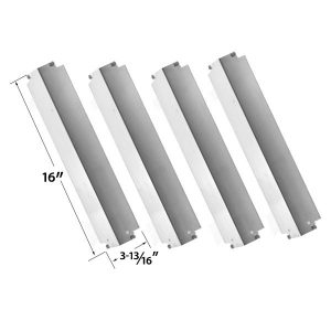 4-PACK-REPLACEMENT-STAINLESS-STEEL-HEAT-PLATE-FOR-KENMORE-THERMOS-461262006-AND-CHARBROIL-LOWES-463248208-GAS-MODELS