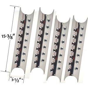 4-PACK-REPLACEMENT-STAINLESS-STEEL-HEAT-PLATE-FOR-SELECT-GAS-GRILL-MODELS-BY-UNIFLAME-GBC831WB-C-GBC831WB