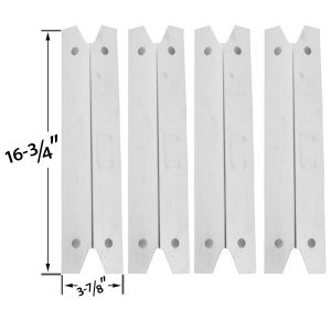 4-PACK-UNIVERSAL-STAINLESS-STEEL-HEAT-SHIELD-FOR-FOR-GRILL-CHEF-GC7550-BRINKMANN-CHARMGLOW-MEMBERS-MARK-GR3055-014684-MODELS-GRILL