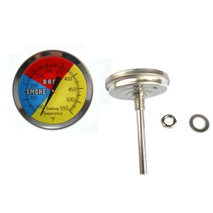 475F-BBQ-CHARCOAL-GRILL-SMOKER-PIT-TEMPERATURE-GAUGE-THERMOMETER-2.5-STEM-SS-RWB