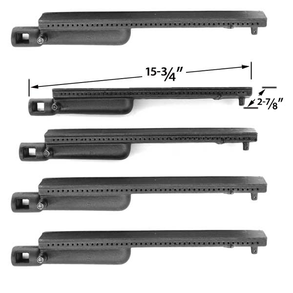 5-PACK-CAST-IRON-REPLACEMENT-BURNER-FOR-GAS-GRILL-MODELS-BY-AUSSIE-7362BO-B11-7362BO-M11-7362KIXB41