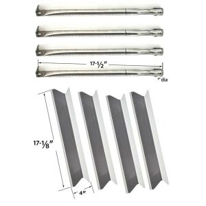 BBQTEK-GSC3219TA-GSC3219TA-INGLEWOOD-1662907-GAS-GRILL-REPAIR-KIT-INCLUDES-4-STAINLESS-STEEL-BURNERS-AND-4-STAINLESS-HEAT-PLATES …-1