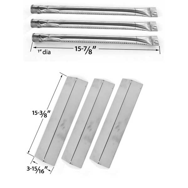 Griddle Replacement Parts : Grill parts for brinkmann w gas replacement