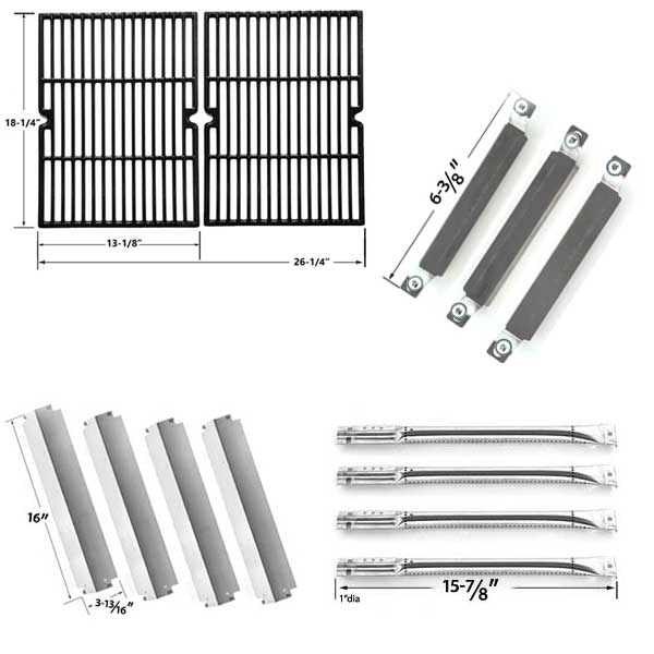 Griddle Replacement Parts : Grill parts for charbroil commercial  gas