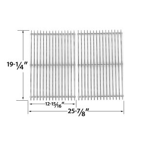 HEAVY-DUTY-REPLACEMENT-STAINLESS-STEEL-COOKING-GRATES-FOR-BRINKMANN-GLEN-CANYON-JENN-AIR-KIRKLAND