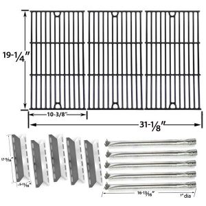 Stainless Steel Burners Grill Repair Parts In USA Canada