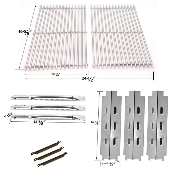 Griddle Replacement Parts : Grill parts repair kit for charbroil