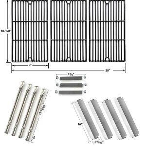 REPAIR KIT FOR CHARBROIL COMMERCIAL 463247310 BBQ GAS GRILL INCLUDES 4  STAINLESS BURNERS  4 STAINLESS HEAT PLATES  3 CROSSOVER TUBES AND PORCELAIN  CAST  Char Broil Grill Parts   Grill repair parts in USA  Canada   Part 4. Porcelain Repair Kit Canada. Home Design Ideas