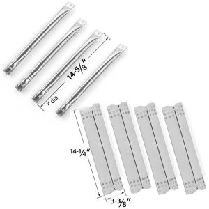 REPAIR-KIT-FOR-SUNBEAM-720-0697-NEXGRILL-720-0697-GRILL-MASTER-720-0697-BBQ-GRILL-INCLUDES-4-STAINLESS-HEAT-PLATES-AND-4-STAINLESS-STEEL-BURNERS-1