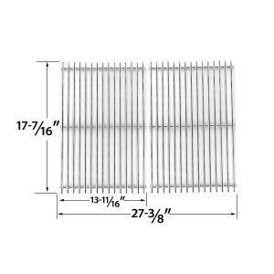 REPLACEMENT-STAINLESS-STEEL-COOKING-GRID-FOR-UNIFLAME-GBC831WB-C-GBC831WB-GAS-GRILL-MODELS-SET-OF-2