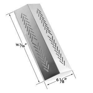 REPLACEMENT-STAINLESS-STEEL-HEAT-PLATE-FOR-BROIL-MATE-726454-726464-736454-736464-GRILLPRO-226454-226464-236454-236464-2009-STERLING-GAS-GRILL-MODELS