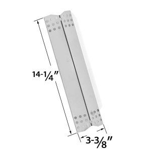 REPLACEMENT-STAINLESS-STEEL-HEAT-PLATE-FOR-GRILL-MASTER-720-0737-720-0697-NEXGRILL-720-0697-720-0737-720-0825-UBERHAUS-TERA-GEAR-DURO-GAS-GRILL-MODELS