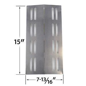 REPLACEMENT-STAINLESS-STEEL-HEAT-PLATE-FOR-MEMBERS-MARK-MODELS-REGAL04CLP-BARBEQUES-GALORE-3BENDLP