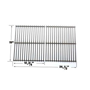 STAINLESS-GRATE-FOR-BROIL-KING-945584-945587-94624-94627-94644-AND-BROIL-MATE-1155-54-1155-57-115554-115557-GAS-GRILL-MODELS-SET-OF-2