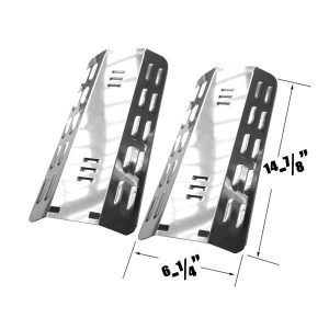 STAINLESS-HEAT-PLATE-FOR-MASTER-FORGE-MFA350CNP-DYNA-GLO-DGP350NP-(2-PK)-GAS-MODELS