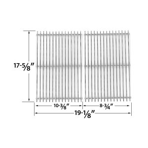 STAINLESS-STEEL-COOKING-GRID-REPLACEMENT-FOR-BRINKMANN-810-3820-S-810-3821-S-DYNA-GLO-DGP350NP-AND-MASTER-FORGE-MFA350CNP-GAS-GRILL-MODELS-SET-OF-2