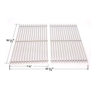 STAINLESS-STEEL-COOKING-GRID-REPLACEMENT-FOR-DCS-27-SERIES-27ABQ-27ABQR-27BQ-27BRQ-AND-MEMBERS-MARK-B09PG2-4B-GAS-GRILL-MODELS-SET-OF-2