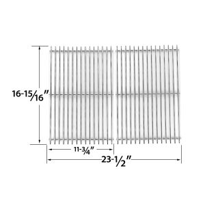 STAINLESS-STEEL-COOKING-GRIDS-FOR-BRINKMANN-2500-2500-PRO-SERIES-2600-2700-2720-4425-4445-6440-6650