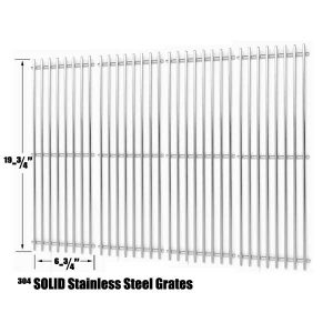 STAINLESS-COOKING-GRID-FOR-CHAR-GRILLER-2121-2123-2222-2828-3001-3030-3725-4000-5050-5252-3008-GAS-GRILL-MODELS-SET-OF-4