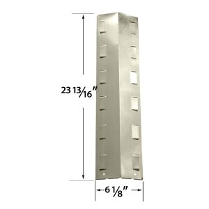 STAINLESS-HEAT-SHIELD-FOR-BBQ-GRILLWARE-GPF2414-GPF2414C-GPF2414NS-GAS-MODELS