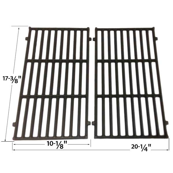 grill parts for weber 87637 cast iron cooking grates for spirit 200 series gas grills 2 grates. Black Bedroom Furniture Sets. Home Design Ideas