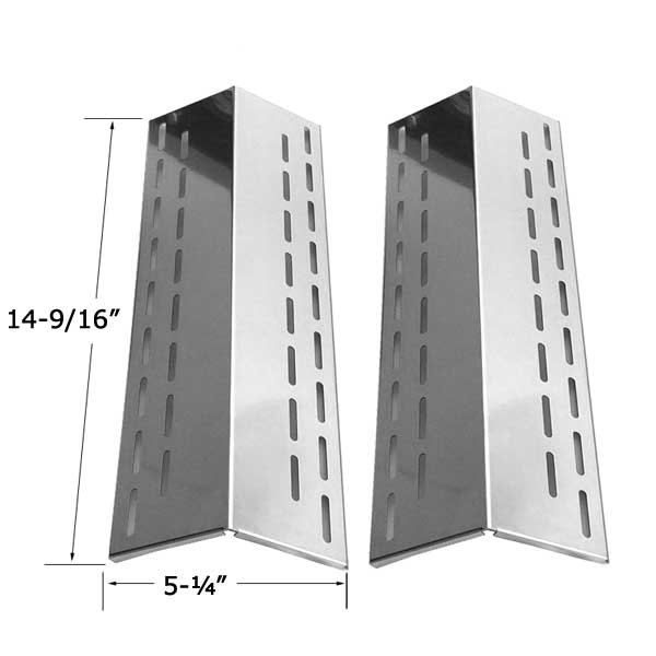 2 Pack Stainless Steel Heat Shield For North American Outdoors XH1510, XPS-XH1510 Gas Grill Models