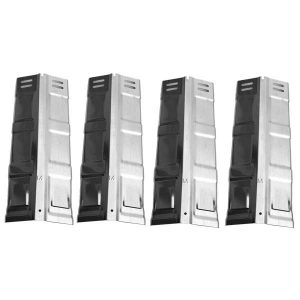 Replacement 4 Pack Stainless Steel Heat Shield For Coleman G52230, G52220, 85-3114-0, G35308 Gas Grill Models