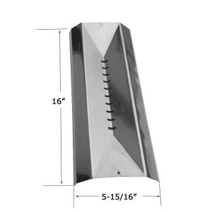 Replacement Stainless Steel Heat Shield For Centro 85-3010-6, 85-3015-6, G51202, G51204, G51207, G51208, G51209 Gas Grill Models