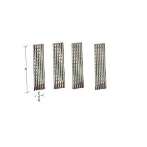 Replacement 4 Pack Stainless Steel Heat Shield For Viking VGBQ030-2T, VGBQ300T, VGBQ410T Gas Grill Models