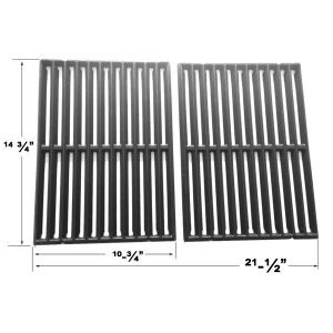 Replacement 2 Pack Cast Iron Cooking Grate For Broil King 934654, 934657, 934664, 94244, 94247 Gas Grill Models