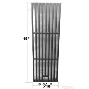 Replacement Cast Iron Cooking Grate For Brinkmann 810-1575-W, Grill Chef PAT502, 640-117694-117, JH665SB Gas Grill Models