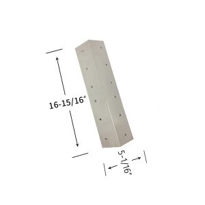 Replacement Stainless Steel Heat Shield For Aussie 8462-8-MR1 Gas Grill Model