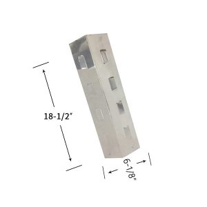 Replacement Stainless Steel Heat Shield For Charbroil 415.16120901, 463612010, 463620208 Gas Grill Models