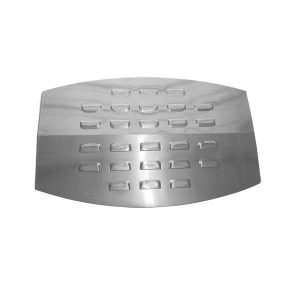 Replacement Stainless Steel Heat Shield For Great Outdoors D450, DC450, IRONWARE DG450, A05714W Gas Grill Models
