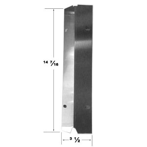 Replacement Stainless Steel Heat Shield For Master Cook SRGG30001B Gas Grill Model