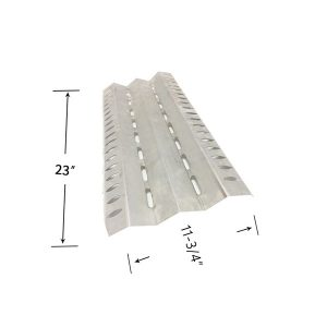 Stainless Steel Heat Shield For Broil-mate 1155-54, 1155-57, 115784, 115787, 115994, 115997, 1551-54 Gas Grill Models